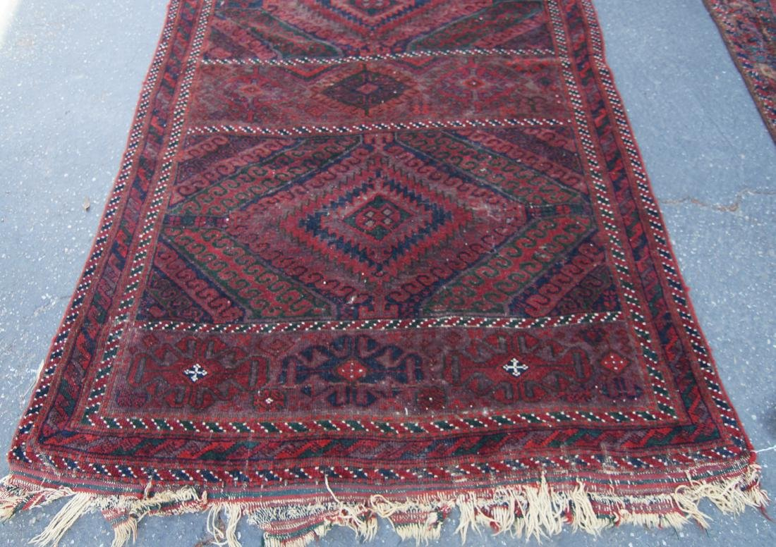 "19th cen. Beluch rug - 94"" x 48"" - 5"