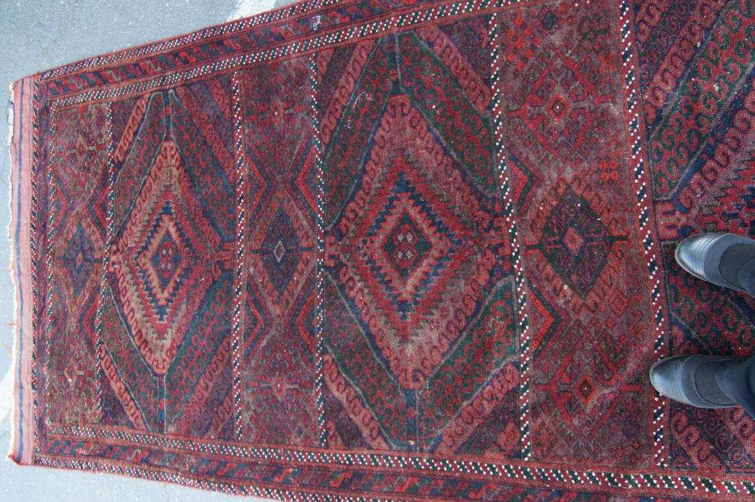 "19th cen. Beluch rug - 94"" x 48"" - 7"