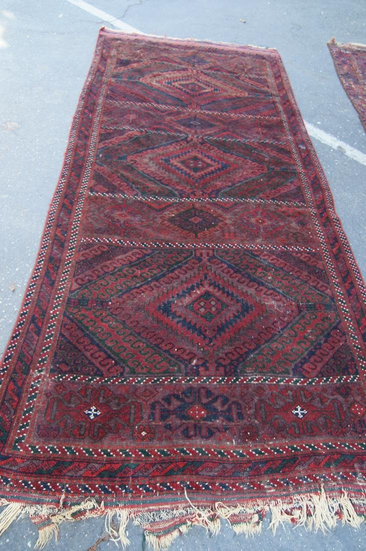"19th cen. Beluch rug - 94"" x 48"" - 8"