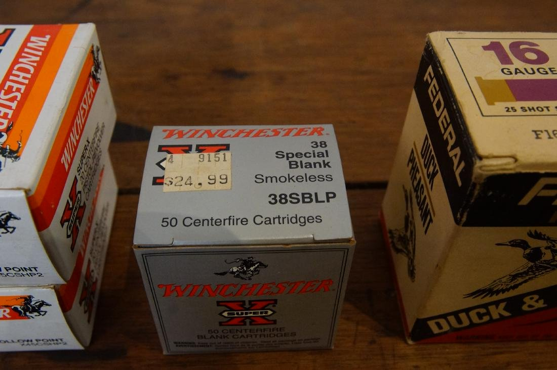 Collection of Assorted Winchester type ammo + - 4
