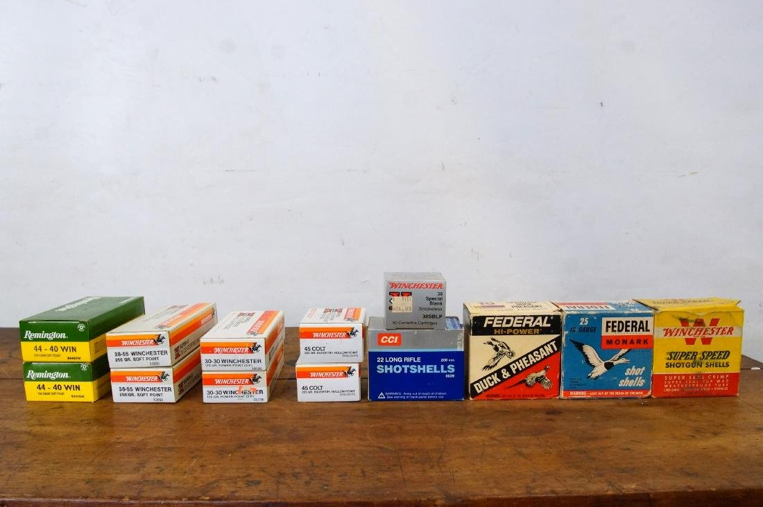 Collection of Assorted Winchester type ammo + - 6