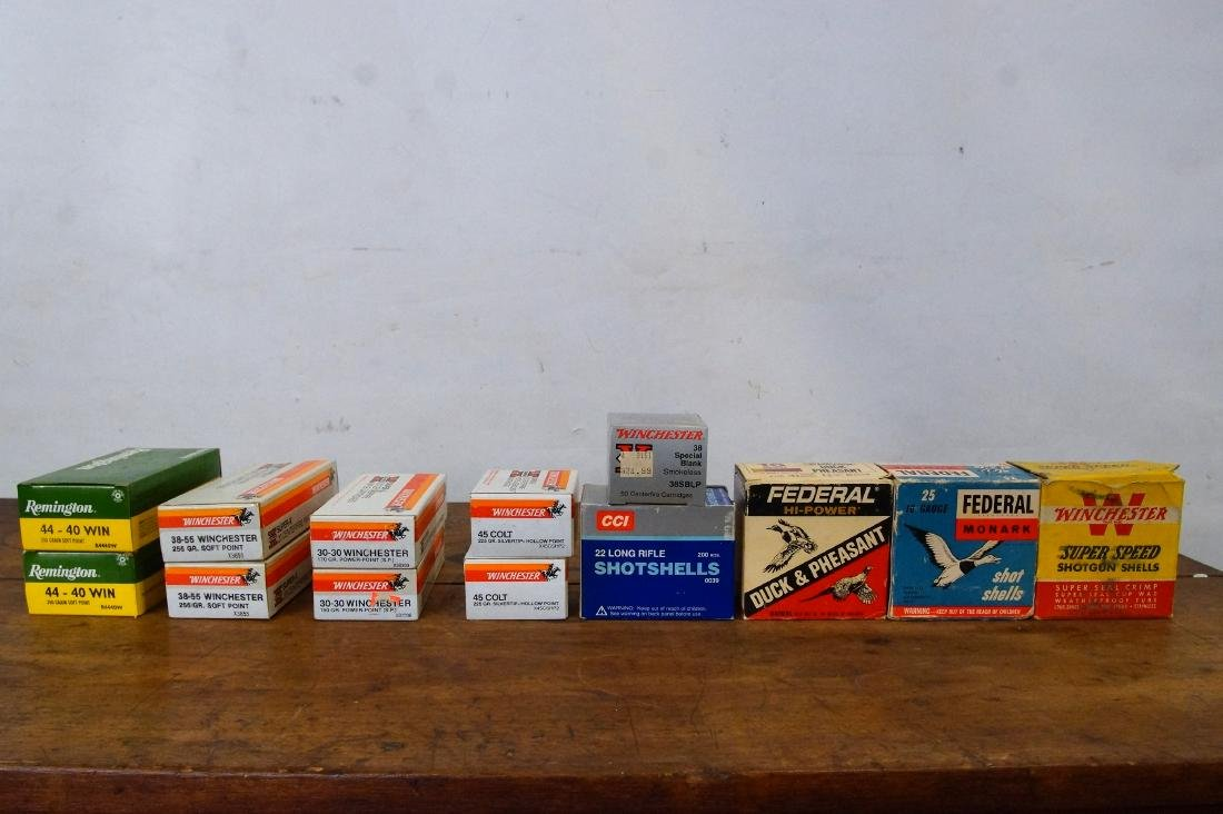 Collection of Assorted Winchester type ammo + - 7