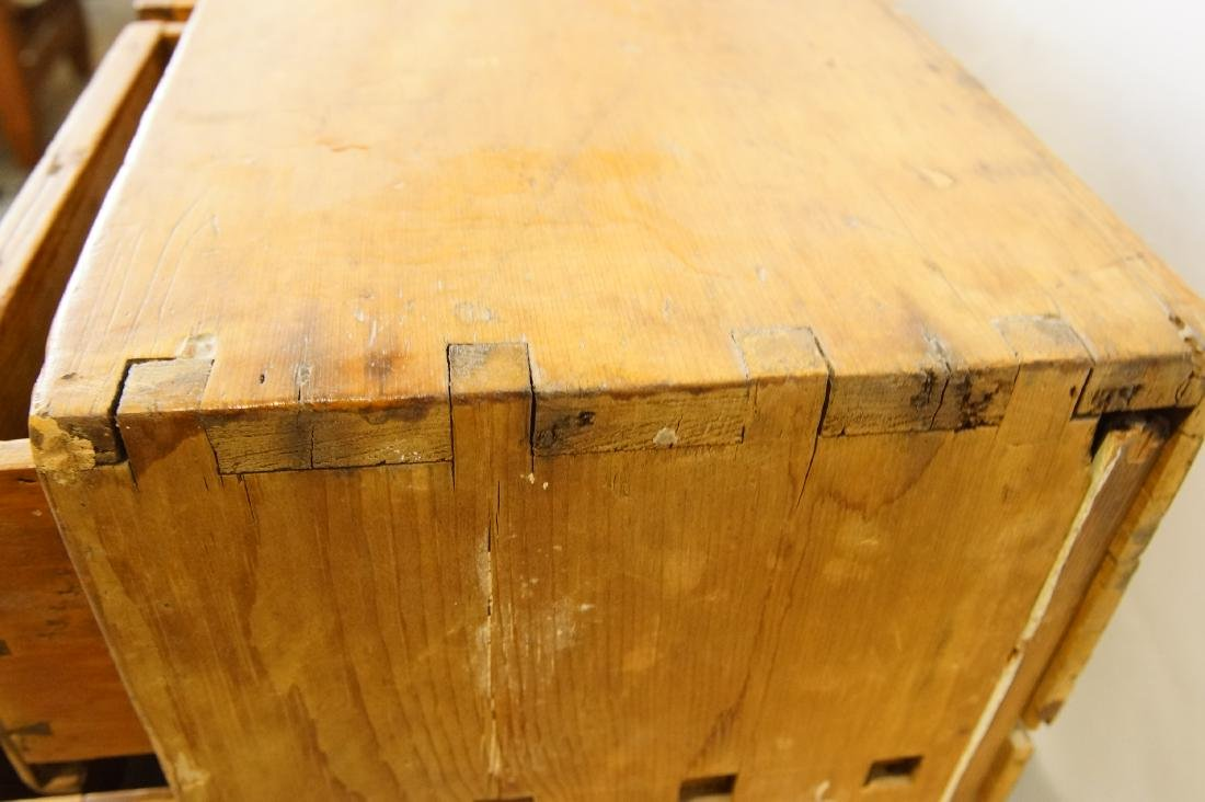 Early American eight drawer cabinet - 5