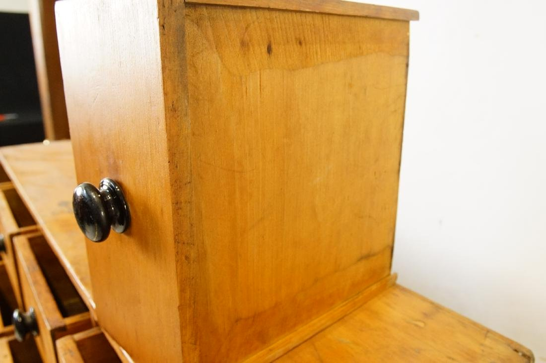 Early American eight drawer cabinet - 6