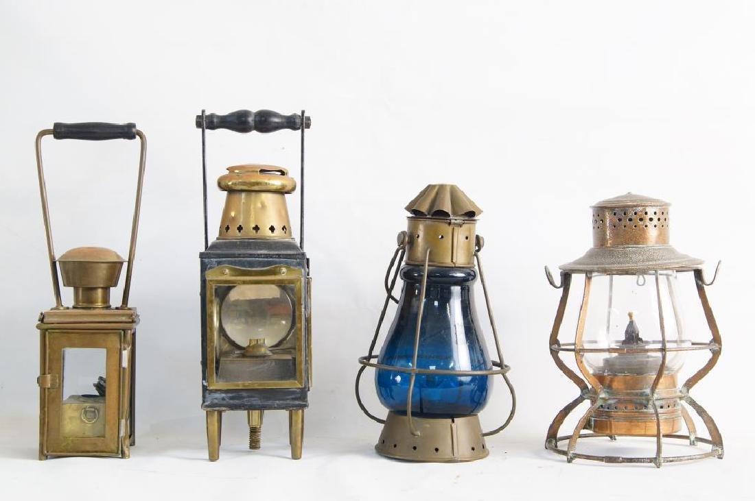 Antique Maritime Kerosene lanterns - 4