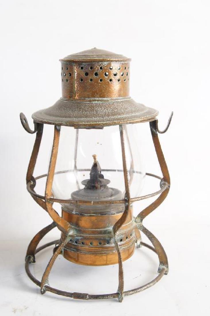 Antique Maritime Kerosene lanterns - 4 - 2