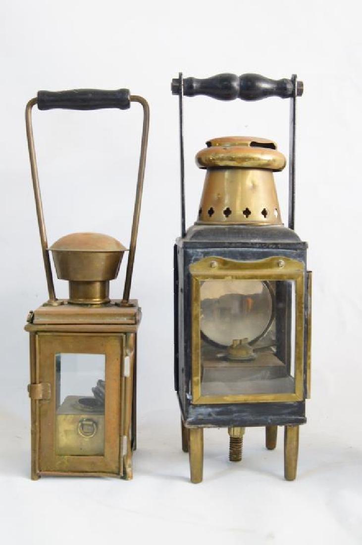 Antique Maritime Kerosene lanterns - 4 - 4