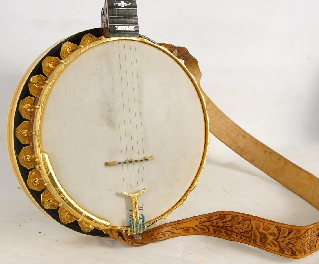 Gariepy Banjo - model 9 Liberty Banjo highly inlaid - 3