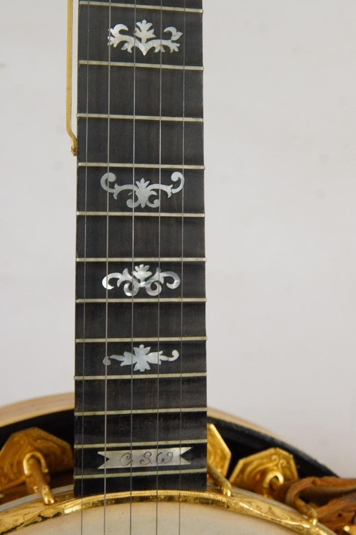 Gariepy Banjo - model 9 Liberty Banjo highly inlaid - 7
