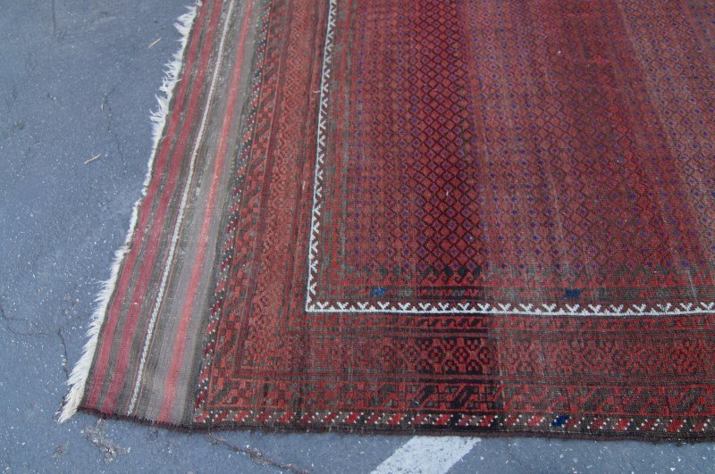 "19th C. Beluch rug - 7\' 5"" x 10\' 4\"" - 6"