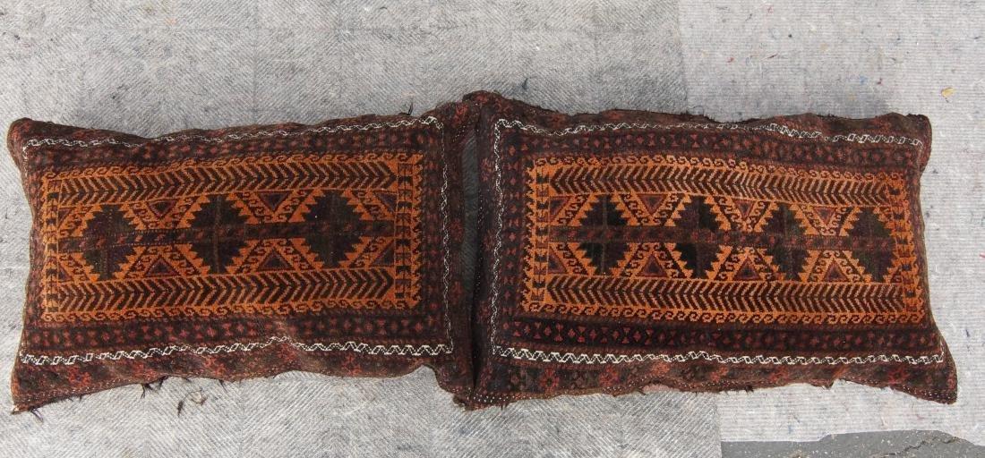 Pair of matching antique Beluch pillows