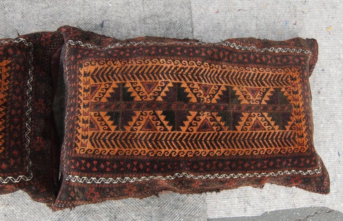 Pair of matching antique Beluch pillows - 2