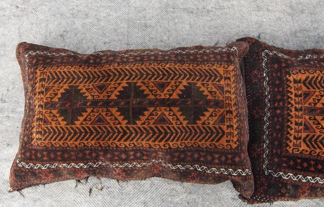 Pair of matching antique Beluch pillows - 3