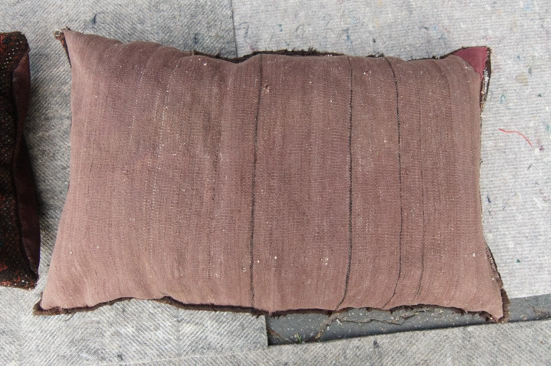 Pair of matching antique Beluch pillows - 6