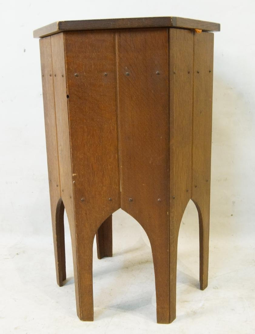 Moroccan style hexagon sewing stand - 3