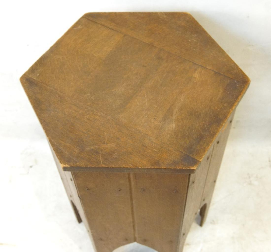 Moroccan style hexagon sewing stand - 4