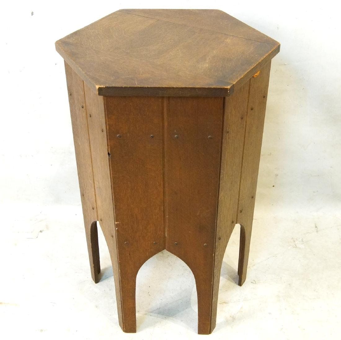 Moroccan style hexagon sewing stand - 5