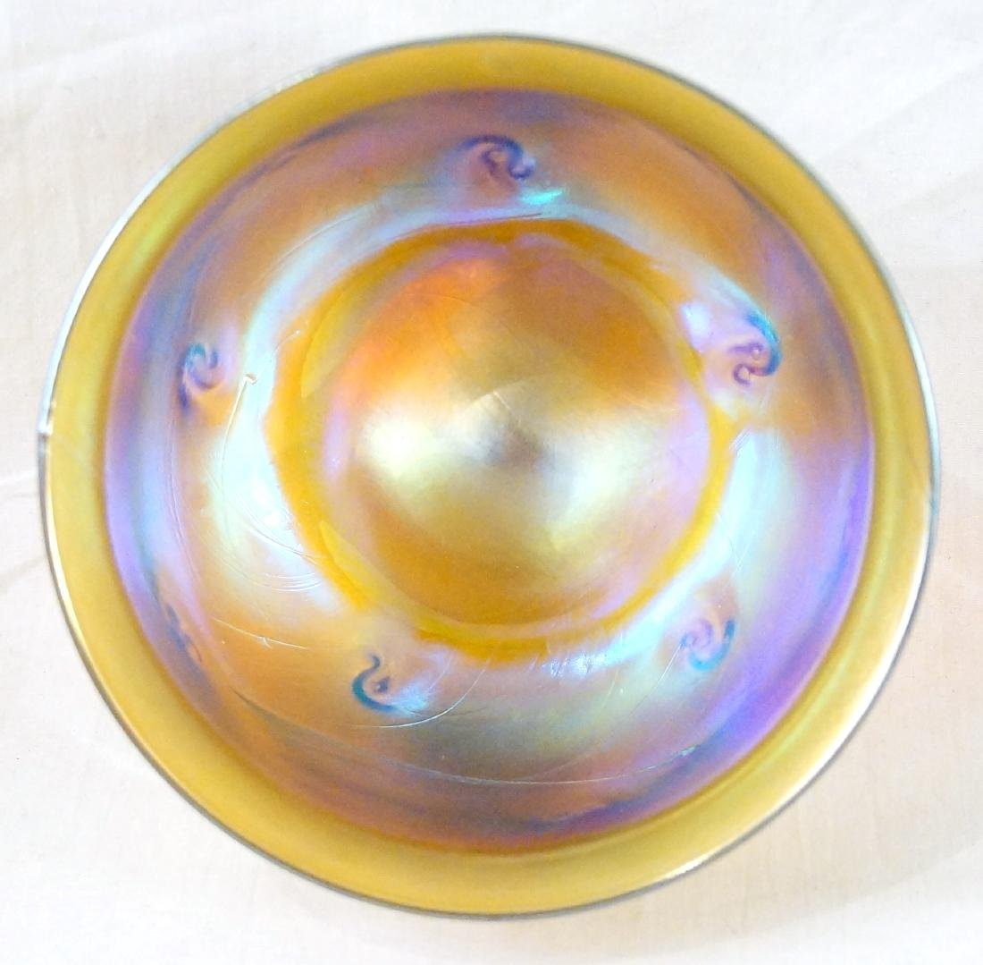 Louis Comfort Tiffany Favrile glass bowl - 3