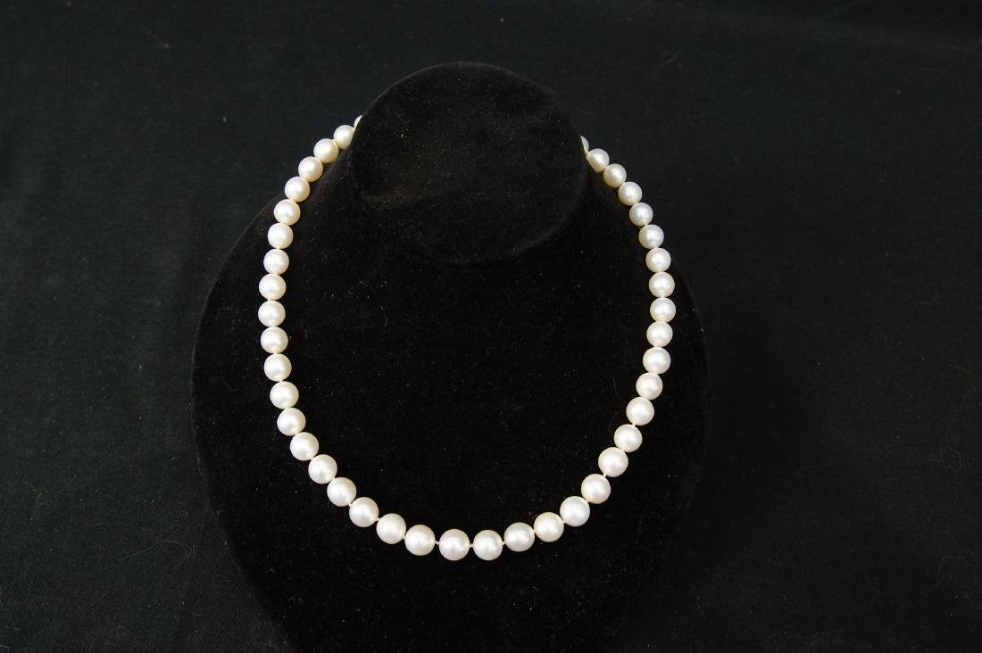 South Sea Natural pearl necklace - 2
