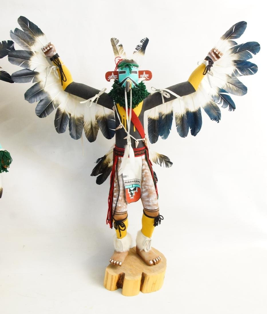 Two Large Hopi Byron Davis Kachina dolls - 2