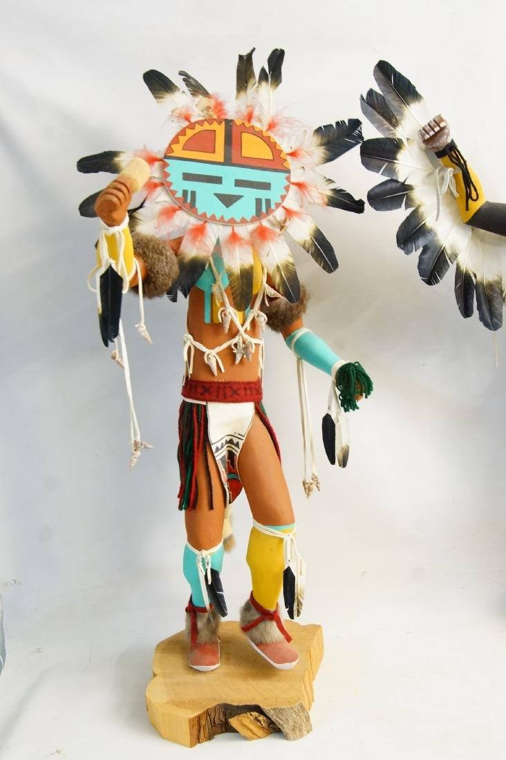 Two Large Hopi Byron Davis Kachina dolls - 3