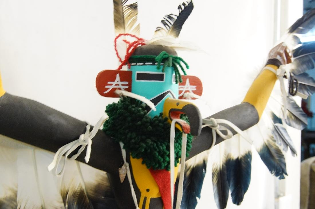 Two Large Hopi Byron Davis Kachina dolls - 4