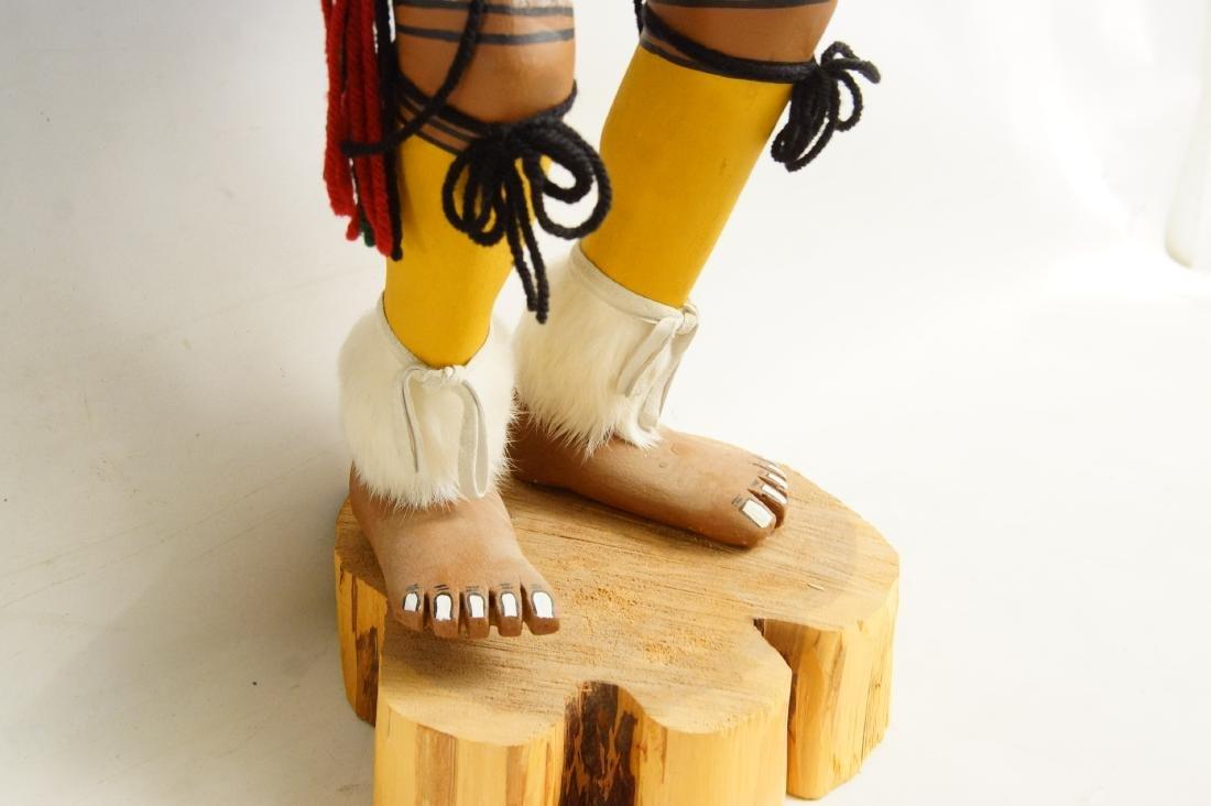 Two Large Hopi Byron Davis Kachina dolls - 5