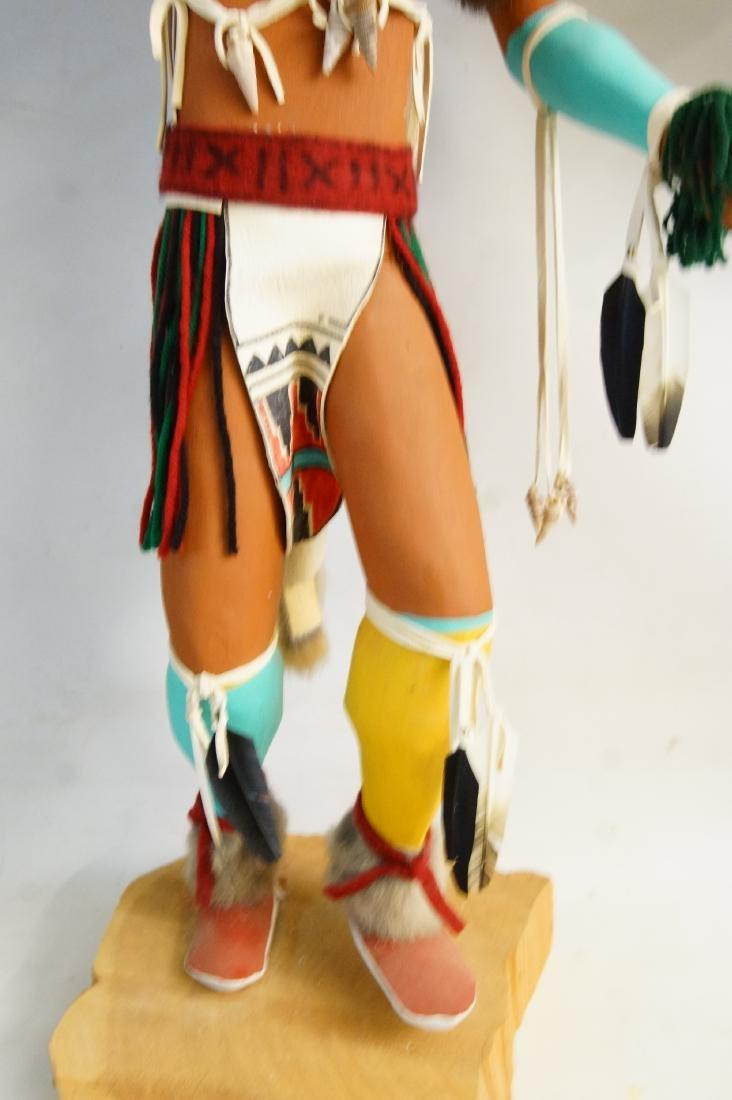 Two Large Hopi Byron Davis Kachina dolls - 7