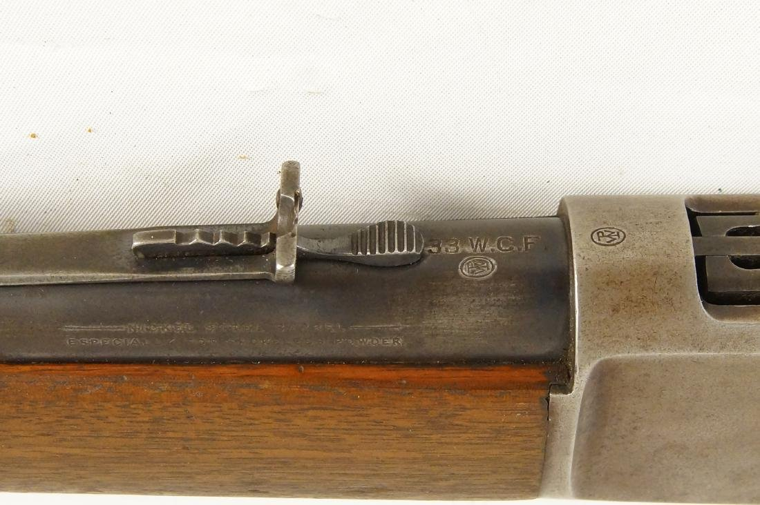 Scarce Winchester 1886 33WCF Lever Action Rifle - 4