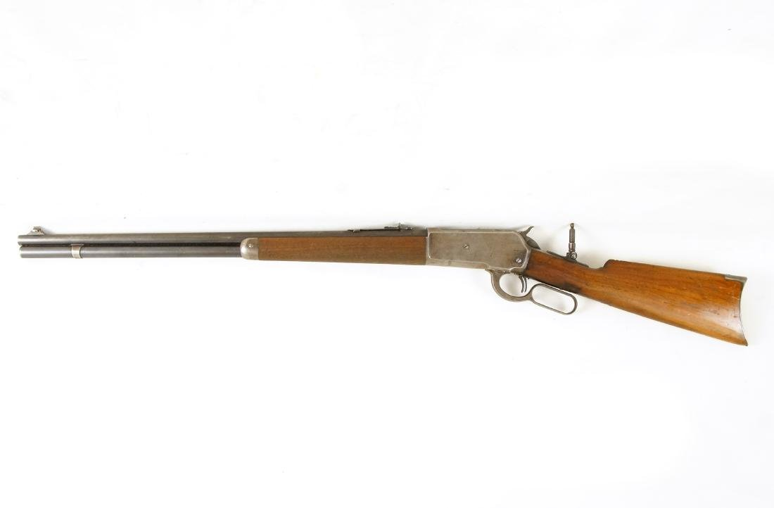 Scarce Winchester 1886 33WCF Lever Action Rifle - 7