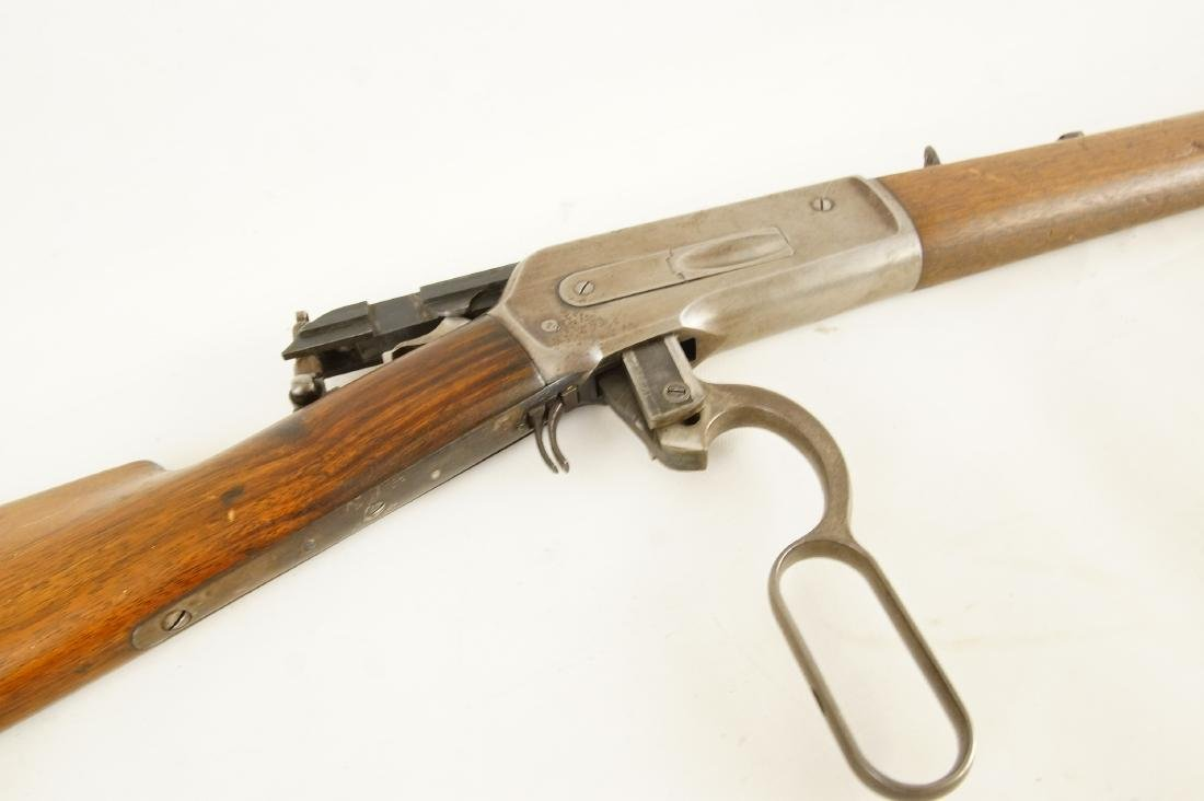 Scarce Winchester 1886 33WCF Lever Action Rifle - 9