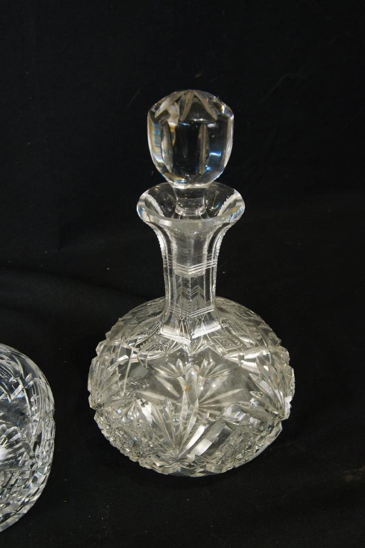 Antique Crystal Decanters - 2