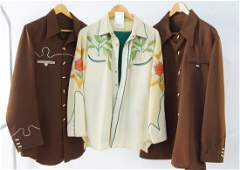 Nudie's rodeo tailors Shirt and cowboy pants