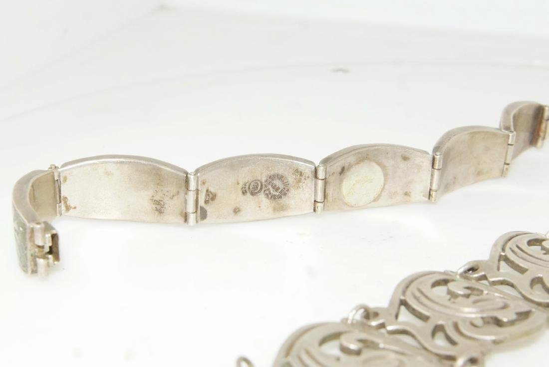 Taxco and Mexican silver bracelets - 2 - 2