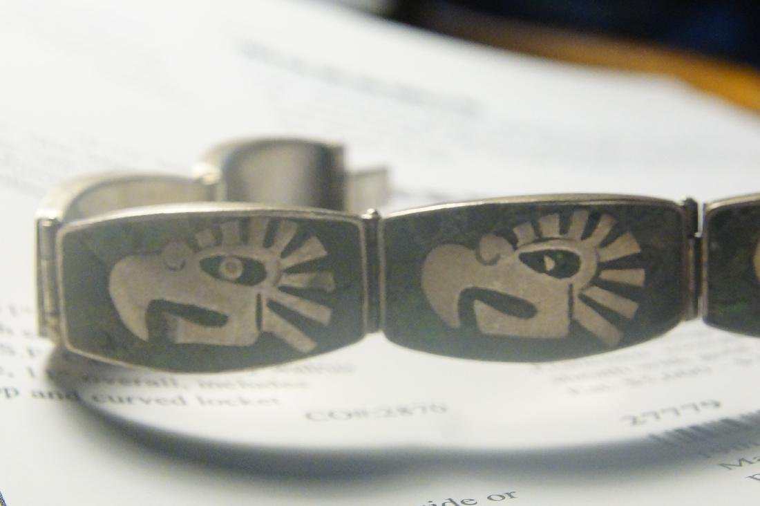 Taxco and Mexican silver bracelets - 2 - 5