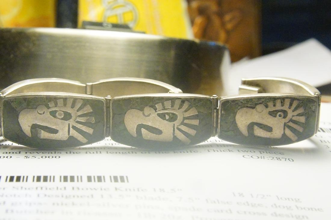 Taxco and Mexican silver bracelets - 2 - 6