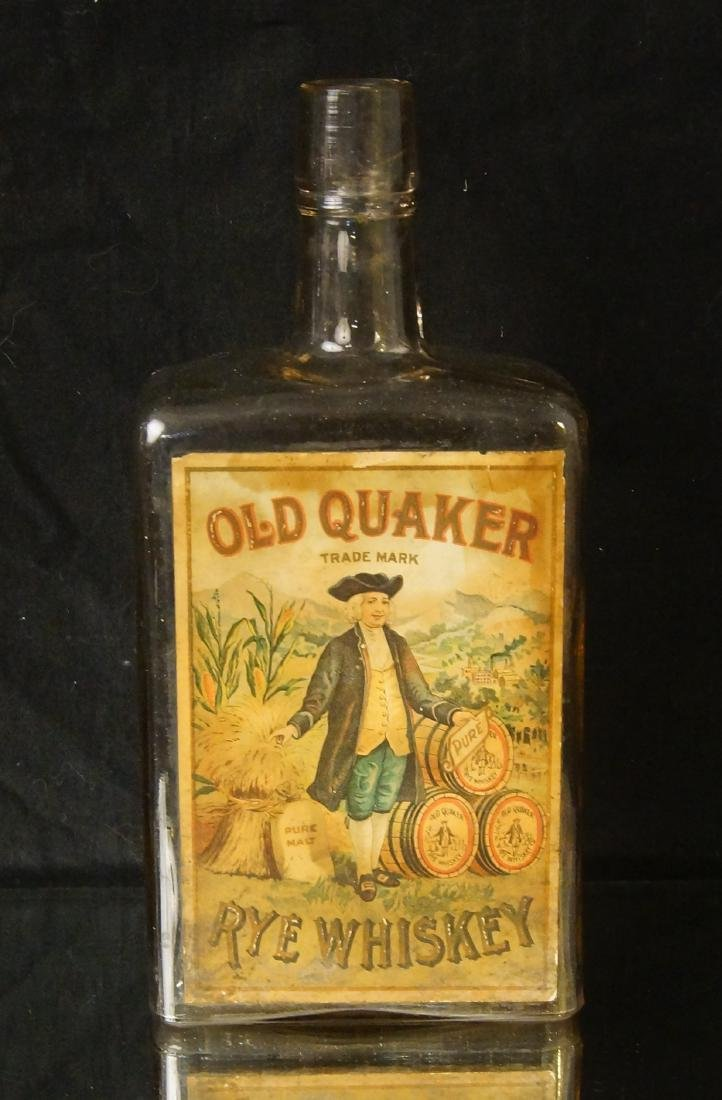 Rare Old Quaker - Rye whiskey ca. 1880