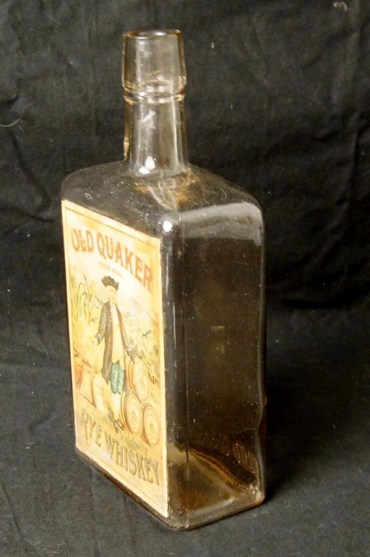 Rare Old Quaker - Rye whiskey ca. 1880 - 2