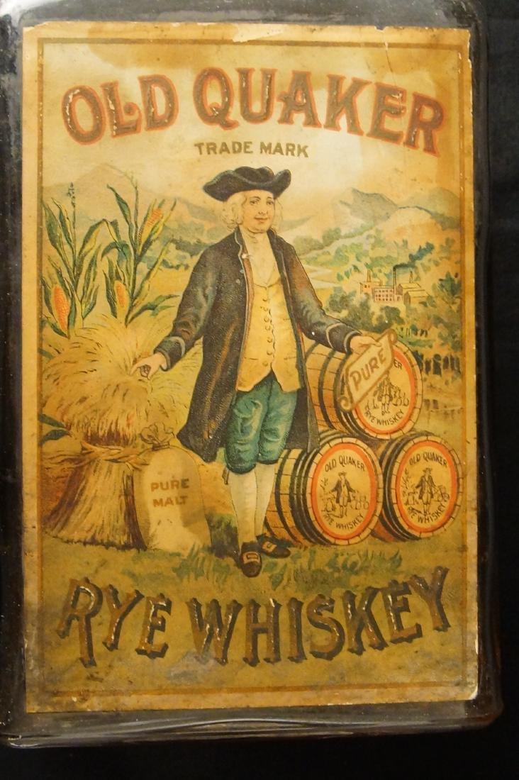 Rare Old Quaker - Rye whiskey ca. 1880 - 5