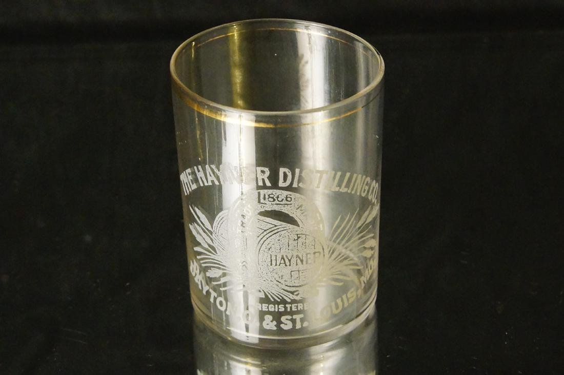 Antique Hayner shot glass - St Louis MO. - 2
