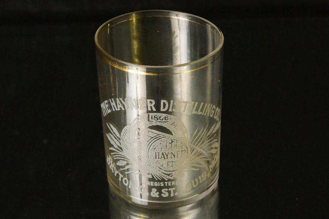 Antique Hayner shot glass - St Louis MO. - 3