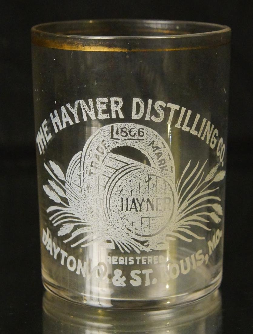 Antique Hayner shot glass - St Louis MO. - 5