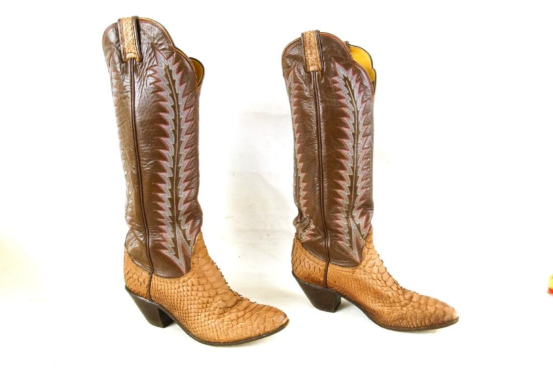 Tony Lama Handcrafted Vintage western boots