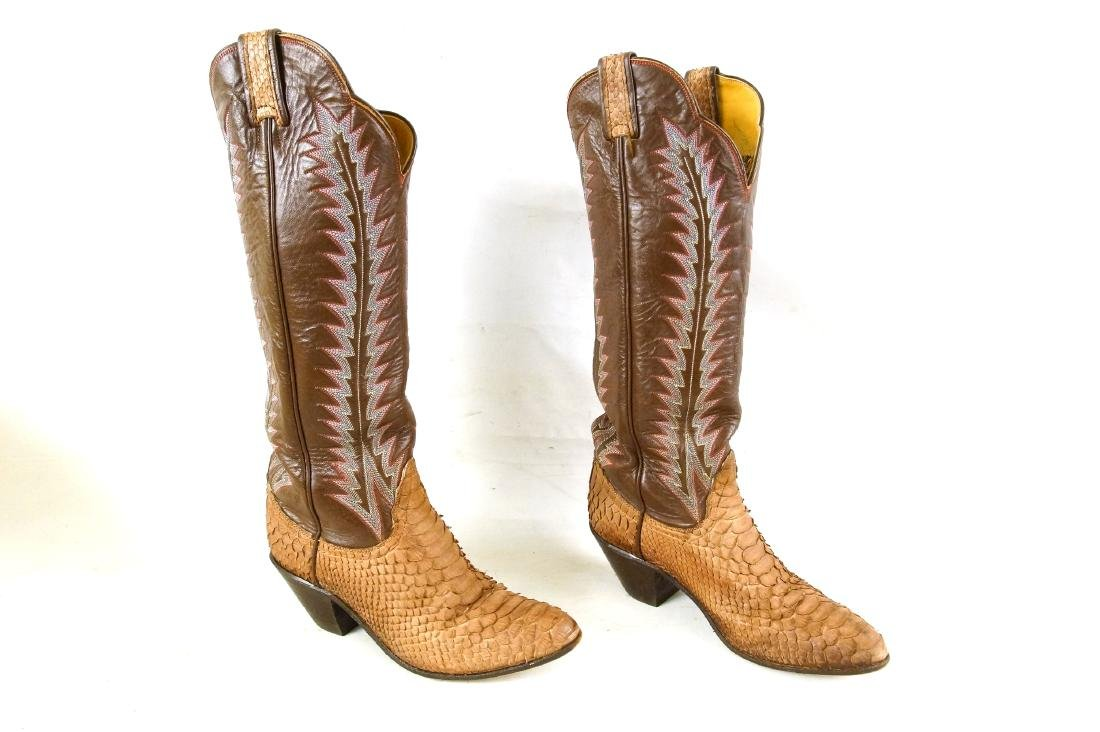 Tony Lama Handcrafted Vintage western boots - 2