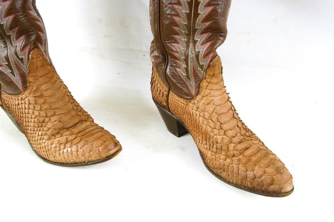 Tony Lama Handcrafted Vintage western boots - 3