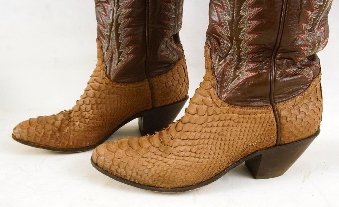 Tony Lama Handcrafted Vintage western boots - 4