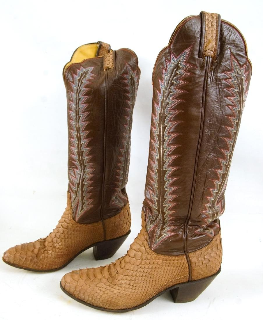 Tony Lama Handcrafted Vintage western boots - 5