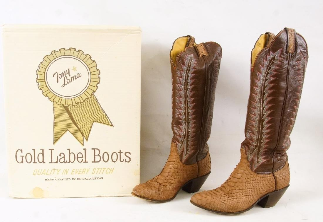 Tony Lama Handcrafted Vintage western boots - 7