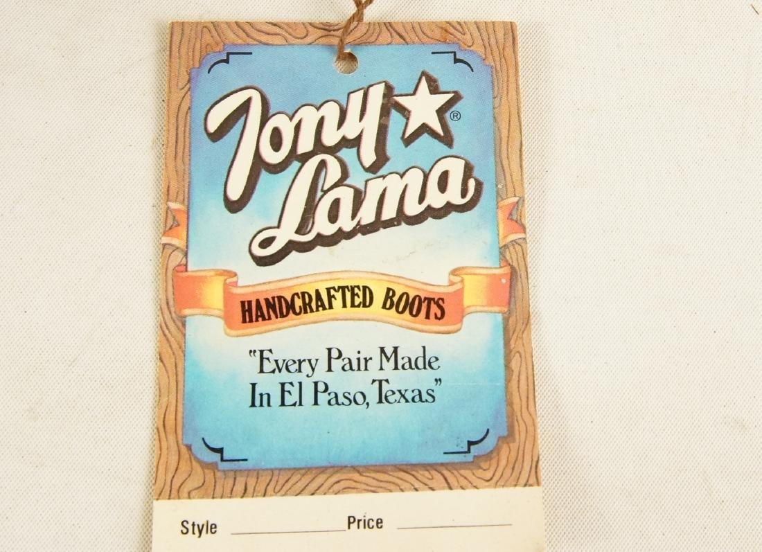 Tony Lama Handcrafted Vintage western boots - 8