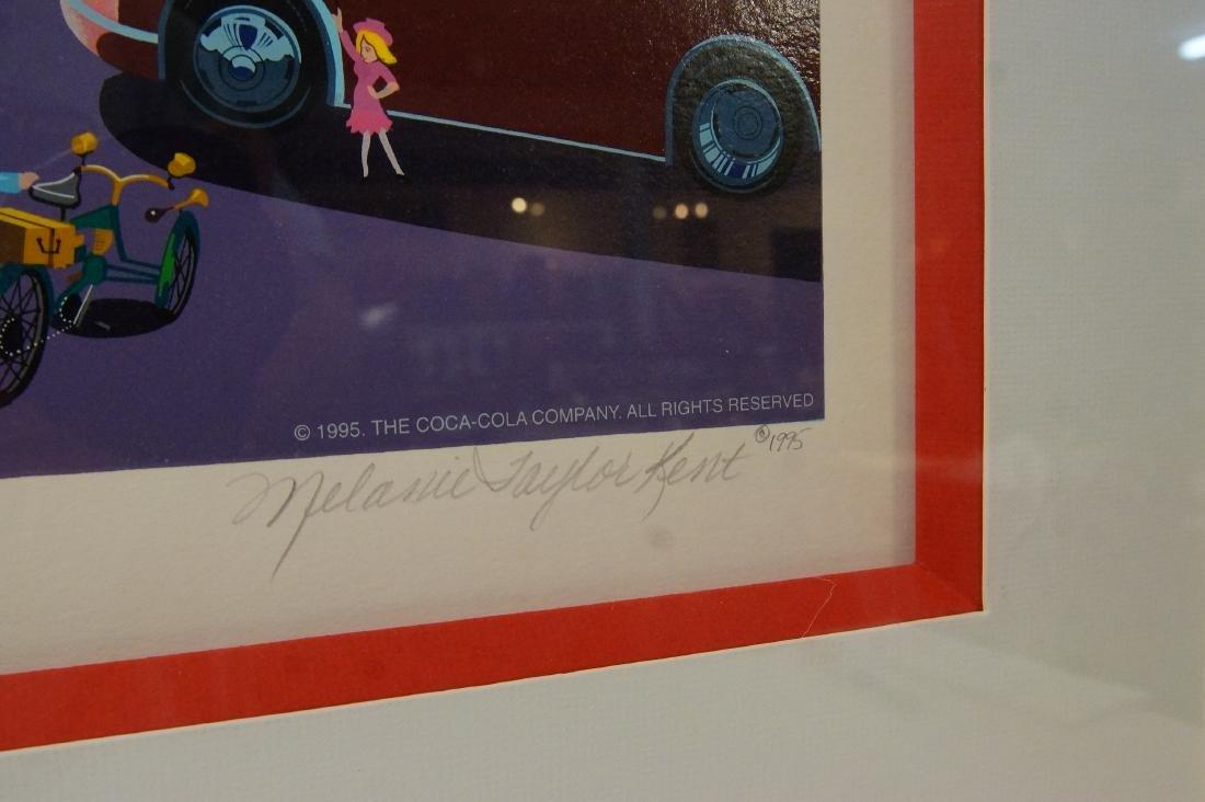 Melanie Taylor Kent Lmtd. Ed. Coca Cola Lithograph - 6